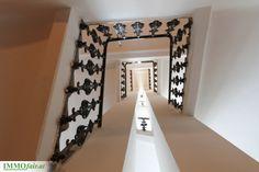 Stiegenhaus #Wien #Altbau Eckhaus, Kegel, Next Door, Stairs, Doors, Mirror, Furniture, Home Decor, Condominium
