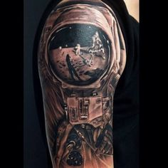 Astronaut tattoos