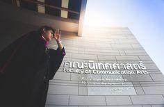 Taken By Pul2e | GraduateTH Graduation Diy, Graduation Photos, Graduation Photography, Communication Art, Lifestyle Trends, Photography Poses, Congratulations, Child, Portrait