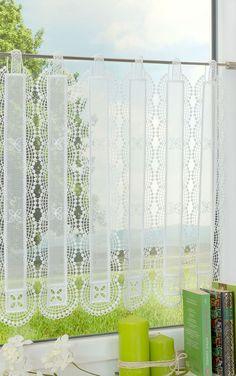 scheibengardinen k che wohnung pinterest gardinen vorh nge und landhaus gardinen. Black Bedroom Furniture Sets. Home Design Ideas