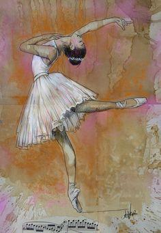 Ballet Words, Paper Artist, Swan Lake, Throughout The World, Japan Travel, Gouache, Saatchi Art, Art Drawings, Canvas Art