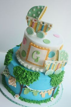 Carriage cake!  So cute!  #PampersPinParty