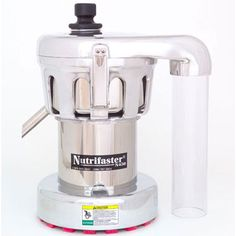 Nutrifaster Multi-Purpose Commercial Centrifugal Juicer, Front-Center Close-up View of Entire Juicer, White Background Fruit And Vegetable Juicer, Citrus Juicer, Commercial Juicer, Commercial Kitchen, Juicer Reviews, Centrifugal Juicer, Juicer Machine, Best Juicer, Juice Extractor