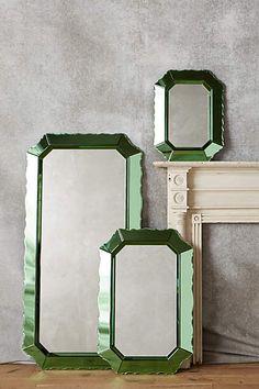 Sculpted Beaumont Mirror - anthropologie.com