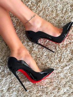 Stiletto Mid Heeled Ankle Strap Point Toe Date Event Pumps - - Source by heels Stiletto Pumps, Pumps Heels, Women's Stilettos, Flats, Sandal Heels, Mule Sandals, Heeled Sandals, Talons Sexy, Frauen In High Heels