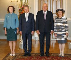 King Harald and Queen Sonja official visit Finland.   6-8-2016