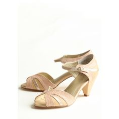 At First Sight Kitten Heels From Seychelles ($90) found on Polyvore