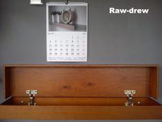cudowna drewniana półka schowek przedpokój nowość