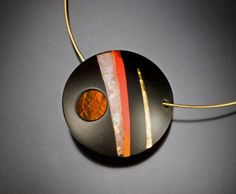 Secret Life of Jewelry - A Universe of Handcrafted Art to Wear: Kiln-Formed Glass - Dolores Barrett Jewelry