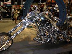 Ghost Rider Bike by SideEyes, via Flickr