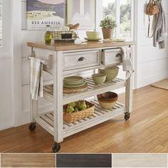 Custom DIY Rolling Kitchen Island | Rolling kitchen island, Daydream ...
