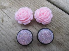 girly plugs just in case I ever decide to gauge my ears ;-)