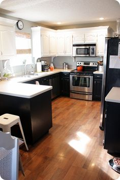 Thrifty Decor Chick: (Your) Beautiful Kitchens