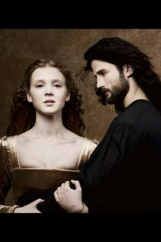 Isolda dychauk as Lucrezia Borgia and Mark Ryder as Cesare Borgia, they are  so gorgeous!!