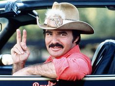Burt Reynolds and his moustache want to say hello Moustaches, Movie Stars, Movie Tv, Smokey And The Bandit, Georgia, Raining Men, Director, Great Movies, Famous Faces