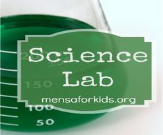 Ideas for teaching and exploring science in the home/school.