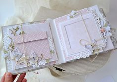 Inspiration Picture of Diy Mini Scrapbook Ideas Diy Mini Scrapbook Ideas Waterfall For Adding Lots Of Pics To A Mini Album Mini Albums Scrapbooking Album, Mini Scrapbook Albums, Baby Scrapbook, Scrapbook Paper, Diy Mini Album, Mini Album Tutorial, Album Photo, Baby Girl Photo Album, Album Book