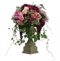 #SilkFlowers - Pink & Cream Roses ARWF3504