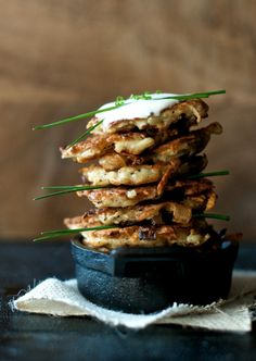 Crispy potato pancakes /