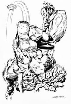Wonder Woman #194 Original Art Splash Page Bondage