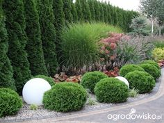 Na zielonej. Garden Yard Ideas, Garden Design, Front Yard Landscaping Design, Plants, Country Gardening, Japanese Garden, Outdoor Gardens, Country Garden Decor, Rock Garden Landscaping