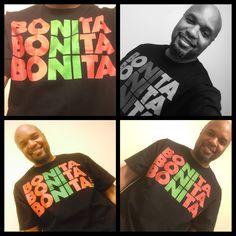 T-shirt of the day! Bonita Applebum!! #TSOTD #ATCQ #bonitaapplebum #yougottaputmeon #oldschool #hiphop #qtip #phifedawg #alishaheed #jarobi #redblackandgreen