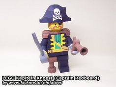 Posts about LEGO written by ninjatoes Lego Craft, Toy Craft, Paper Crafts For Kids, Diy For Kids, Legos, Captain Redbeard, Free Paper Models, Free Lego, Lego People