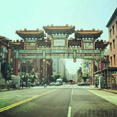 Chinatown DC- where the Cape Crosby gang rang in Chinese New Year.