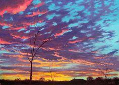 Rural Sunset by artsaus on DeviantArt