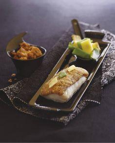 Filet de cabillaud en croûte de Cantal Entre-Deux   retrouvez la recette sur Gourmets de France .fr