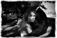 bride and sun