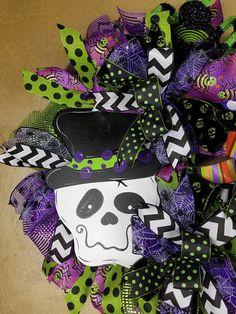 Guirnalda esqueleto guirnalda esqueleto de Halloween