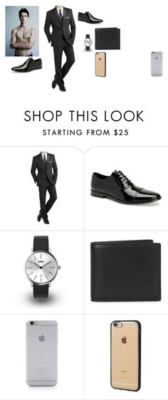 """""""Finn Bylun of the Snow"""" by sungazing ❤ liked on Polyvore featuring International, Calvin Klein, KENNY, Coach 1941, Native Union, Incase, modern, men's fashion and menswear"""