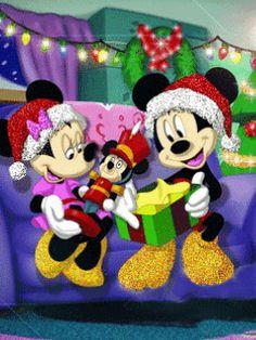 Dibujos animados de Navidad Disney.