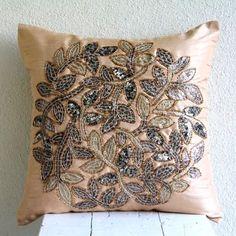 Handmade Beige Pillow Shams, 3D Sequins Leaf Medallion Pi... https://www.amazon.com/dp/B00D196L32/ref=cm_sw_r_pi_dp_x_HEflyb69VSBRT