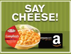 HORMEL COMPLEATS microwave meals Say Cheese Instant WIN Game ENTER DAILY-ENDS 5/31