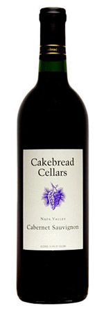 Favorite. So expensive. Cakebread Cellars 2008 Cabernet Sauvignon, Napa Valley, $65
