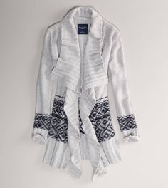 AE Draped Waterfall Cardigan
