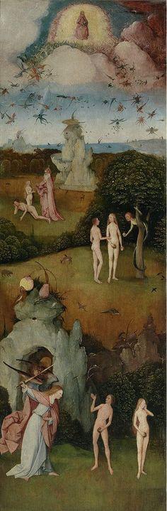 ヒエロニムス・ボス Hieronymus Bosch 乾草車(左翼) The Hay Wain (left wing)