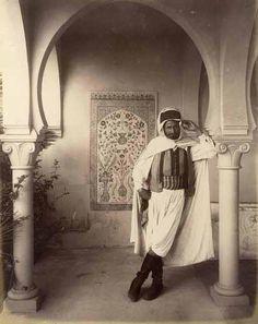 Algerian man 1870