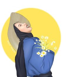 Girl Cartoon, Cartoon Art, Hijab Drawing, Bff Drawings, Profile Picture For Girls, Digital Art Girl, Girl Hijab, Avatar, Disney Characters