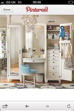 makeup vanity with lots of storage. dressing table with lots of storage  Google Search RANSBY Dressing mirror black brown IKEA Bedroom