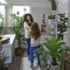 Bathroom update: see how plants can a create calm space to relax in | live from IKEA FAMILY