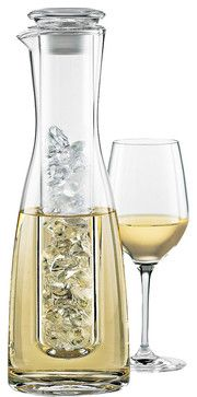 Wine Enthusiast Barware, 2 Piece Wine Chilling Carafe - Bar & Wine Accessories - Dining & Entertaining - Macy's Bridal and Wedding Registry Things To Buy, Stuff To Buy, In Vino Veritas, Diy Décoration, Wine Time, Cool Gadgets, Wine Gadgets, Kitchen Gadgets, Kitchen Tools