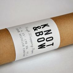 Double Recycled Kraft Wrapping Paper Roll  30 Feet by knotandbow, $10.00