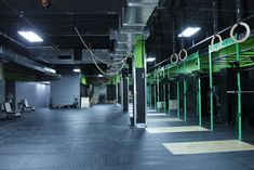 Reebok Launches First Concept Store - The Reebok CrossFit Box [gym] is ensconced below the Reekok store on Fifth Avenue.