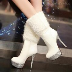 Beautiful Feel So Spirit-High Heels Boots  from ILoveCuteShoes.com