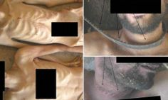 """SYRIA - Eyes gouged out, electrocuted, strangled: Sickening dossier of 55,000 torture pictures 'smuggled out of Syria which prove Assad has committed war crimes' by military photographer, code name Caesar - CNN VIDEO: www.cnn.com/2014/01/20/world/syria-torture-photos-amanpour/ A team of internationally renowned war crimes prosecutors and forensic experts has found """"direct evidence"""" of """"systematic torture and killing"""" by the Syrian President Bashar al-Assad's regime... in new report."""