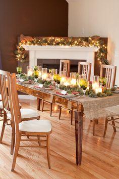 Photography: Mark Davidson - mark-davidson.com Floral + Table Design: Kate Parker Designs - kateparkerdesigns.com  Read More: http://stylemepretty.com/2012/12/21/smp-at-home-sneak-peek-3/