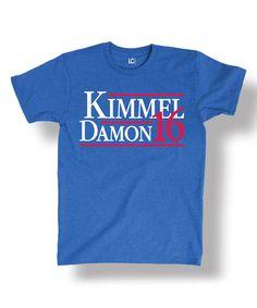 Look at this #zulilyfind! Royal Blue 'Kimmel Damon 16' Tee - Men's Regular #zulilyfinds